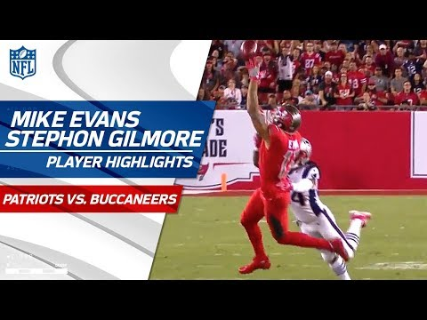 Video: Mike Evans Faces Off Against Stephon Gilmore | Patriots vs. Buccaneers | Wk 5 Player Highlights