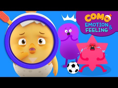 Emotion & Feeling with Como | Learn emotion | Sorry 2 | Cartoon video for kids | Como Kids TV