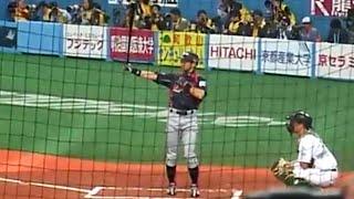 09侍JAPANイチローすごいフラッシュの数!WBC強化試合ICHIROSUZUKI