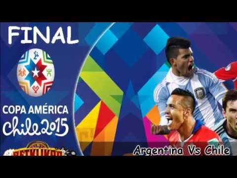 Final Copa America 2016 || Argetina Vs Chili Half Hour High Light