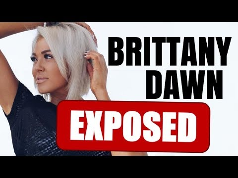 Fit tea - BRITTANY DAWN BAD NEWS GIRL FITNESS COMMUNITY DRAMA