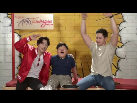 ArtisTambayan: Alden Richards And Yuan Francisco Featuring Joshua Jacobe