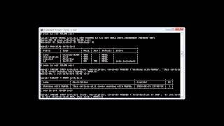 MySQL: Selecting Records