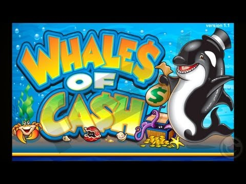 Whales of Cash casino slot game – iPhone & iPad Gameplay Video