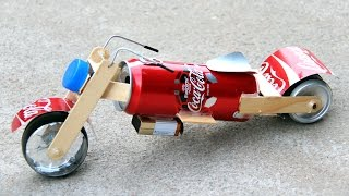 Video How to Make a Toy Motorcycle - Amazing Coca-Cola Motorcycle DIY MP3, 3GP, MP4, WEBM, AVI, FLV Maret 2019