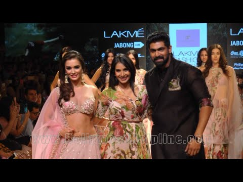 Amy Jackson, Rana Daggubati and Malaika Arora Khan showstoppers At LFW Winter Festive 2015