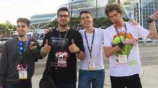 VLOG E3 2016 | MI PRIMER VUELO EN BUSINESS y UN DÍA EN L.A CON YOUTUBERS MU MAJOS!
