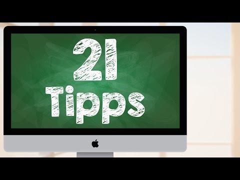 Mac OS X schneller arbeiten: 21 Tipps und Tricks