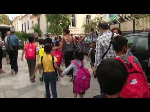 Ελλάδα: Πρώτο κουδούνι για τα προσφυγόπουλα