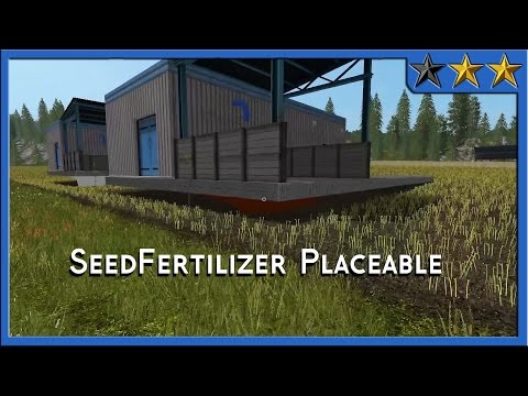 Seeds & Fertlizer Production [placeable] v1.11