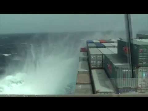 Stress And Effect On A Vessel In Severe Weather