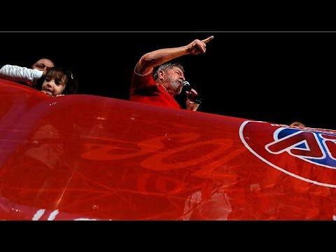 Βραζιλία: Ο Λούλα πρωτοστατεί σε συγκεντρώσεις υπέρ της Ρούσεφ
