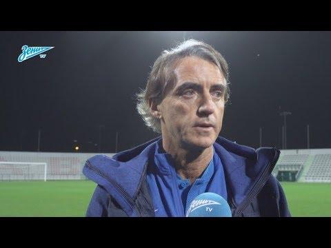 Роберто Манчини на «Зенит-ТВ» — о победе над «Копенгагеном» и выборе состава на каждый из таймов - DomaVideo.Ru