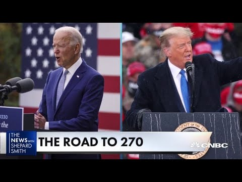 The road to 270 electoral votes