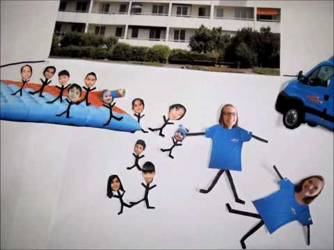 2012 Info: Was ist der Flitzer?, Stopmotionfilm in Englisch