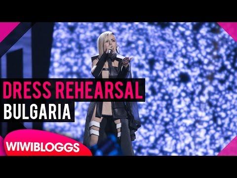"Bulgaria: Poli Genova ""If Love Was A Crime"" grand final dress rehearsal @ Eurovision 2016 (видео)"