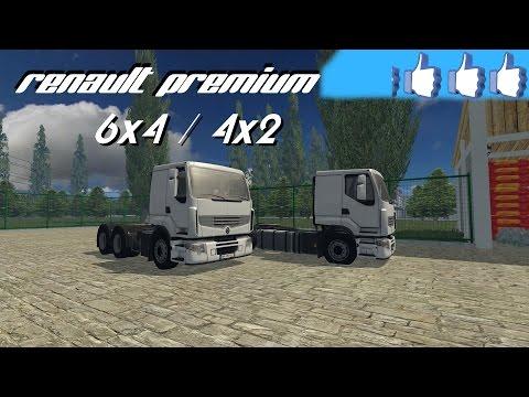 Pack Renault Premium 4x2 / 6x2 v1.0