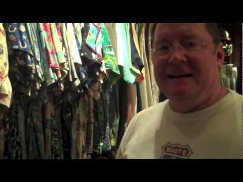 Video | Pixar's John Lasseter's Hawaiian Shirt Collection