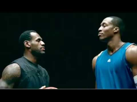 0 McDonalds Super Bowl Commercial   LeBron James vs. Dwight Howard Dunk Contest