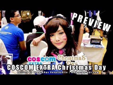 Preview Gallery | พรีวิวรูปคอสเพลย์จากงาน COSCOM EXTRA Christmas Day