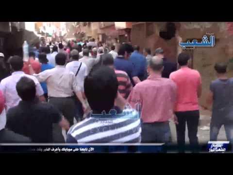 مسيرة مسجد التوحيد تندد بغلاء الأسعار وتدهور الأوضاع فى سيناء