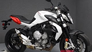 10. 2014  MV AGUSTA  BRUTALE 800 EAS  - National Powersports Distributors