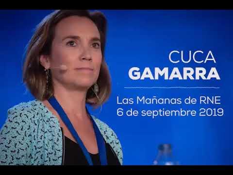 """Cuca Gamarra: esta semana """"hemos visto la escenificación de una precampaña electoral de Sánchez"""""""