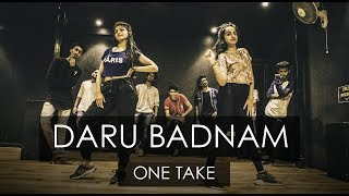 Video DARU BADNAAM | One Take | Tejas Dhoke Choreography | DanceFit Live MP3, 3GP, MP4, WEBM, AVI, FLV April 2018