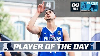 The Filipino rising star Kobe Paras sure did not look like the youngest player in the tournament when he dominated on Day 2 of the FIBA 3x3 World Cup 2017.
