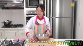 [Thai Food] Pork Jerky (Muu Dad Deaw)