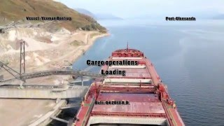 Video Bulk carrier cargo operations - loading MP3, 3GP, MP4, WEBM, AVI, FLV Maret 2019