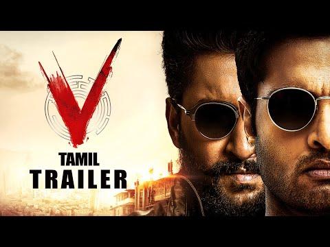 V  திரைப்பட Trailer  V Trailer (Tamil)  Nani, Sudheer, Nivetha, Aditi | Dil Raju | #VonPrime