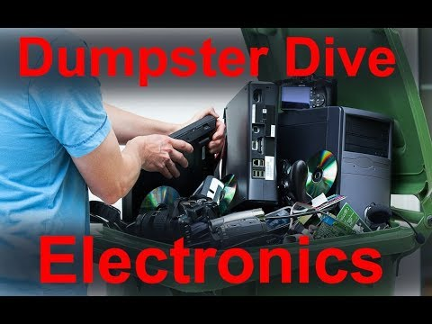 Dumpster Diving Electronics