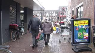 Hamsteren bij supermarkten in Bunschoten