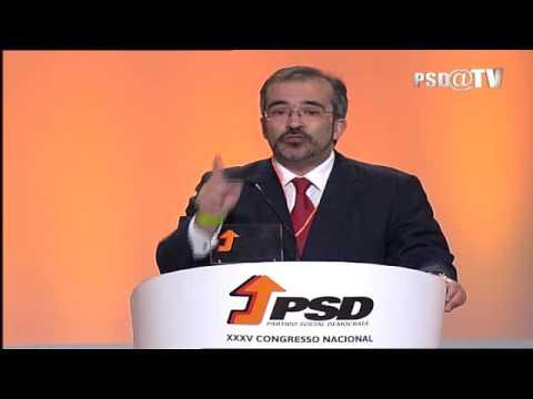 XXXV Congresso PSD: Intervenção de Paulo Rangel