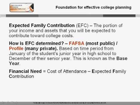 Avoiding Pitfalls when Completing College Financial Aid Applications.  How to Pay for College 5 of 7
