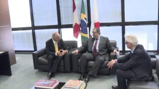 VÍDEO: Alberto Pinto Coelho recebe embaixador da Suíça em audiência