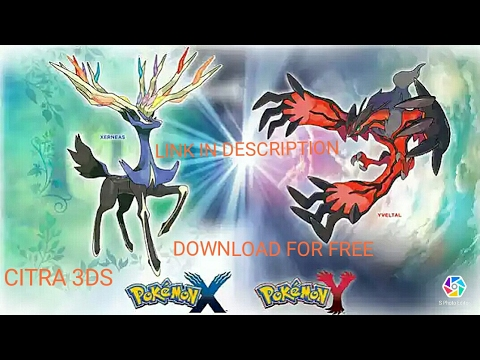 pokemon x and y pc rom free download