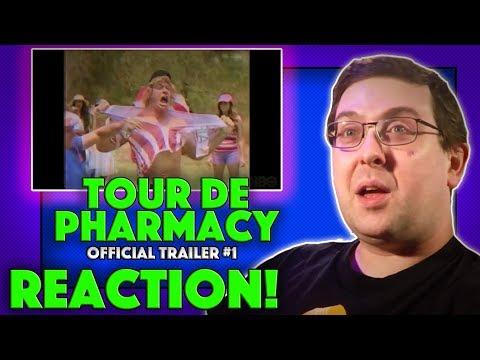 REACTION! Tour De Pharmacy Trailer #1 - HBO Mockumentary 2017