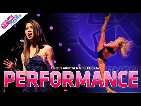2012 KARtv Dance Awards Benefit ASHLEY ARGOTA MOLLEE GRAY TOKYO Someone Like You