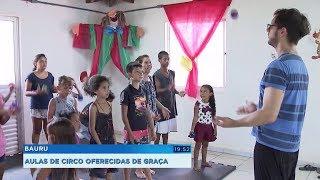 Projeto oferece aulas de circo de graça em condomínios do Minha Casa, Minha Vida