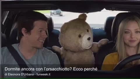 Dormite ancora con l'orsacchiotto? Ecco perché non potete farne a meno