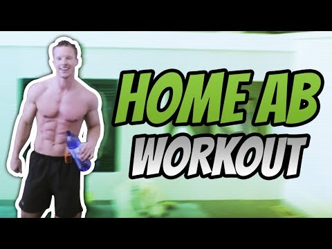 TABATA WORKOUT FOR ABS: 4 Minutes To Tight Abs And Butt (HOME WORKOUT)