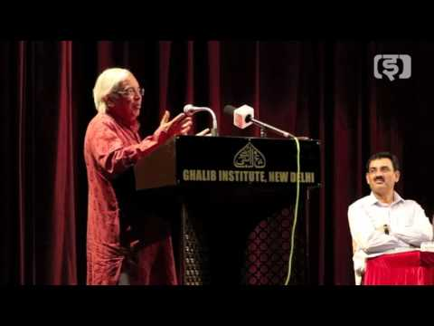 Ashok Vajpeyi: The Cosmic Vision of Mirza Ghalib