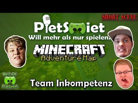 Best Of PietSmiet 🎮 Adventure Map ┊ TEAM INKOMPETENZ (видео)