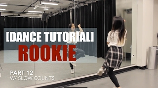 Red Velvet _Rookie_Lisa Rhee Dance Tutorial