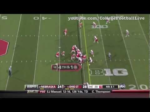 Ohio State QB Braxton Miller 2012 Highlights video.