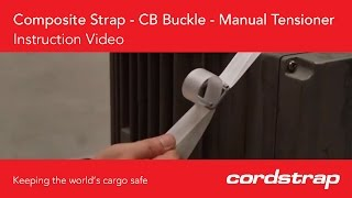 Instruction video | Composite Strap + CB Buckle + Manual Tensioner