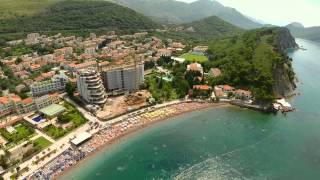 Petrovac Montenegro  city images : Montenegro Petrovac Air Video from a Drone GoPro Zenmuse H3