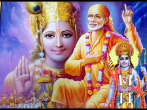 Video Om Sai Ram Hare Hare Krishna  Sai baba,Ram,Krishna download in MP3, 3GP, MP4, WEBM, AVI, FLV January 2017